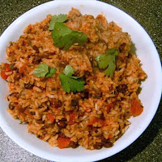Mexican Tomato Rice and Beans