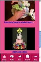 Screenshot of Diaper Cake Magic