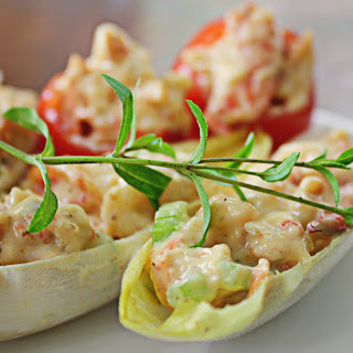 Shrimp Salad in Endive Cups