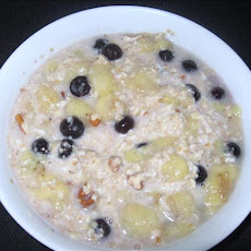 Breakfast Oats & Fruit