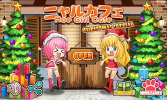 Screenshot of Moe Girl Cafe Merry Christmas!