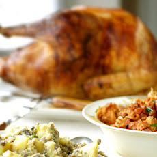 Portuguese Turkey with Two Stuffings Recipe