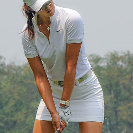 Wie by Lawrence Kelly - Sports & Fitness Golf ( lpga, golf, 2010 lpga us open, 2010, golfers, us open, lady golfers, oakmont,  )