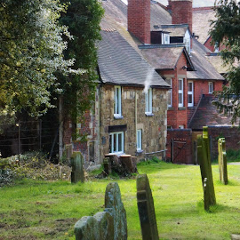Church stretton by Diane Dunn - City,  Street & Park  Historic Districts