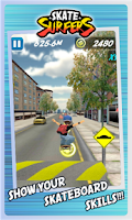 Screenshot of Skate Surfers Free