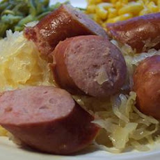 Slow Cooker Kielbasa and Beer