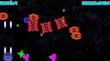Screenshot of Geometry Space Wars Shooter