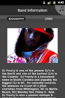 Screenshot of DJ FROSTY