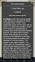 Screenshot of The Holy Quran - English