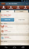 Screenshot of Travel Texas
