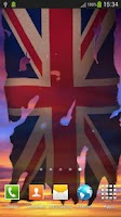 Screenshot of UK Flag Live Wallpaper