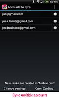 Screenshot of ZenDay: Sync Google Tasks