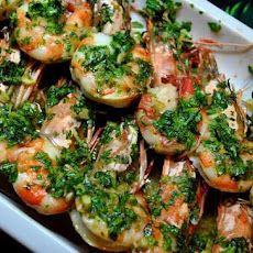 Shrimp With Parsley-Garlic Butter