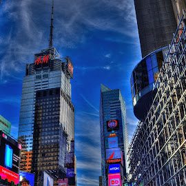 Times Square NYC by Ken Buglione - Buildings & Architecture Architectural Detail (  )