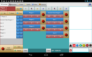 Screenshot of Combat Manager