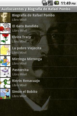 Audiocuentos de Rafael Pombo