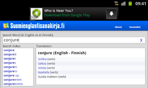 lahnajärvi kartta English Finnish Dictionary   Apps on Google Play lahnajärvi kartta