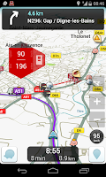 Screenshot of ABEauto - Radars France