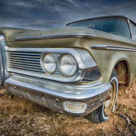 'Ol Edsel by Adam C Johnson - Transportation Automobiles ( edsel, classic car, texas, route 66 )