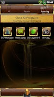 Screenshot of GOLD Go Launcher EX theme