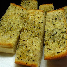 Olive Oil and Parmesan Garlic Bread
