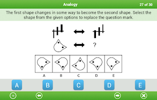 Screenshot of 11+ Non-verbal Reasoning Lite