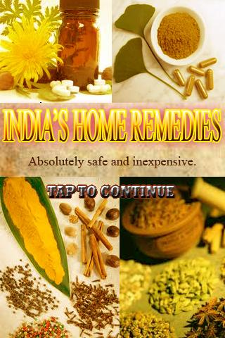 India Home Remedies