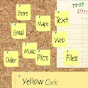 Corkboard Yellow icon