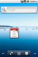 Screenshot of 5pm Countdown