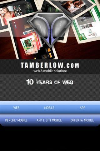 Tamberlow.com Portfolio