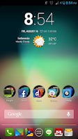Screenshot of Luxx Icon Pack