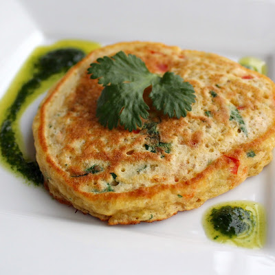 Asian Quinoa Pancakes