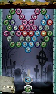 Zombie Bubble Shooter - screenshot