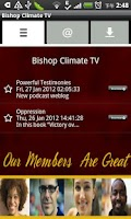 Screenshot of Bishop Climate TV
