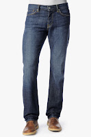 Standard Classic Straight Leg In New York Dark (Long Inseam)