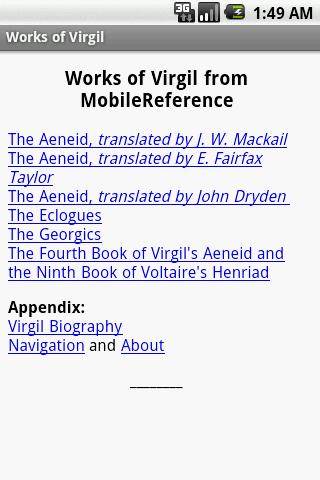 Works of Virgil