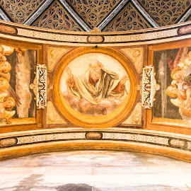 Holy Arch by Franco Beccari - Buildings & Architecture Places of Worship ( religion, fresco, church, frescoes, art, cathedral, worship, painting, affresco )