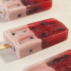 Frozen Blueberry Pops