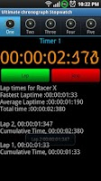 Screenshot of Ultimate Chronograph Stopwatch