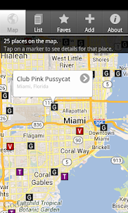 Worldwide Strip Club Finder - screenshot