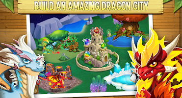 Screenshot of Dragon City