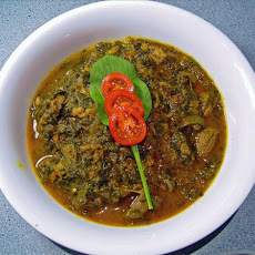 Punjabi Lamb in Spinach and Tomatoes