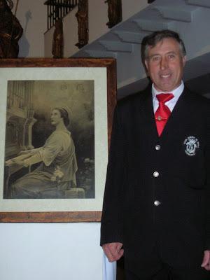 Joaquín Díaz, Hermano Mayor de Santa Cecilia 2007