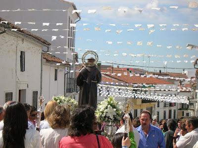 La procesión de San Antonio en años anteriores