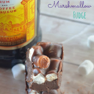 Kahlua Marshmallow Fudge