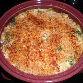 Broccoli, Chicken And Cheese Casserole