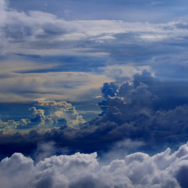 by Sapto Priyanggono - Landscapes Cloud Formations