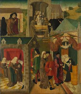 RIJKS: Meester van de Heilige Elisabeth-Panelen: painting 1495