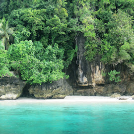 Mystical Dinagat Island by Charmaine Svelte Pallugna - Nature Up Close Rock & Stone