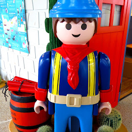 Playmobil, Miner by Alan Chew - Artistic Objects Toys